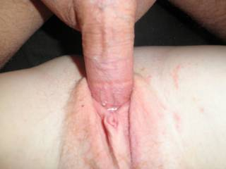 Your pussy is wrapped so tightly around his cock!  HD