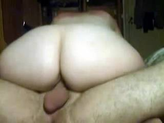 love her ass let me fuck her in her lovely ass while she rides your cock