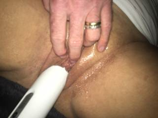 Love getting my horny wife back from london...