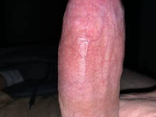 My hard cock ready for someone to ride