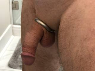 Love this cock ring, the fit is awesome!  Tell me what you think...