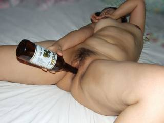 pls deeper the bottle and in arse too