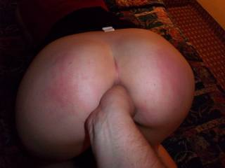 her birthday fingering both holes!