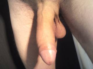 Mmmmm......love uncut cock...lick the tip...take you in my mouth, down my throat till your balls are resting on my chin and...not letting it out till every last drop of hot cum it down my throat