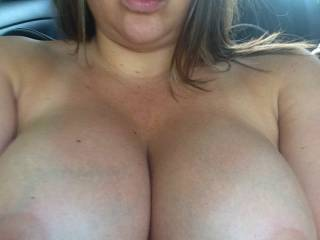 ummm I think I need to cover your awesome tits and lovely tits with a couple of loads!!! soooo hot!!!