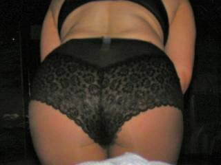 wow, gorgeous sexy ass....love to see it in the sexy panties