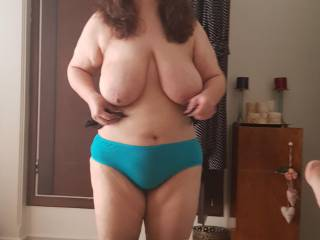 big tit of wife