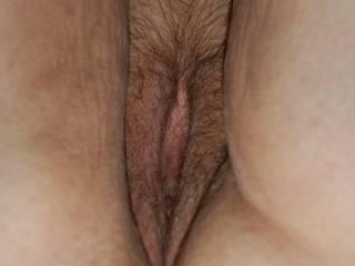 Id like to lick your beautiful hairy Pussy, Keep the bush growing,,