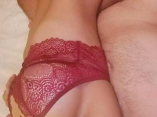 Enjoying new sexy lingerie and having fun together!  Fortunate to have shared the quarantine experience with someone who is very special.