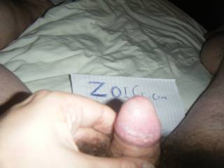 playing with my cock  while looking at the beautiful ladies on zoig.com would you like to suck it dry