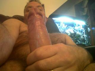 Mature & Horny stroking my thick cock on Zoig Chat! anyone like what they see? plse tell me what you want to do to me!