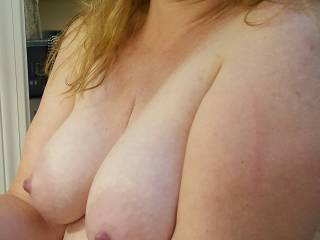 Who wants to play with my milk filled breasts?