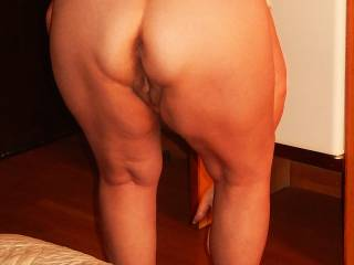 What you think about her mature butt?