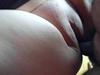 Love to feel big cock fucking my bald pussy