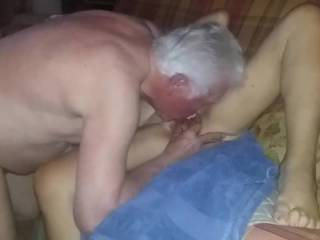 Mrs Bbm, loves the way I pamper her Pussy