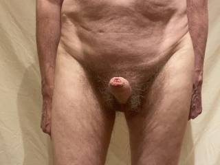 I am hoping that the folds in my slightly eased back foreskin will be irresistible for you.