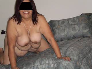 nice , would love to slide my hard cock between those sweet tits
