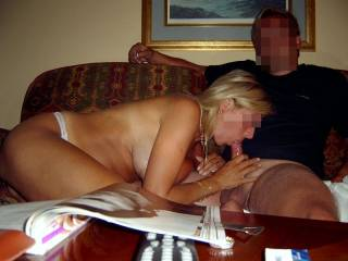 WE also like to trade pics with bi girls. We would love to see your big tits. Mail us at ...