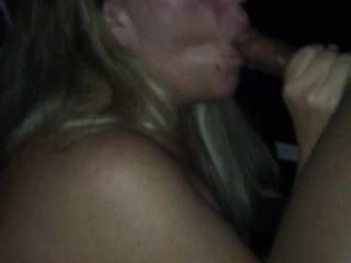 This BBC dumps a huge cum load all over my wife\'s ass. I love the money shots!! :)