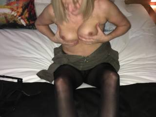 Horny and wanting cock