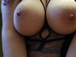 Her skimpy tight dress
