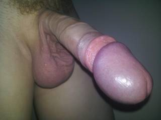 Omg what a beautiful big head. now that i would like to see with my randy little wife's hands and mouth around. but better still fucking her sweet pussy deep and hard making her scream with pleasure