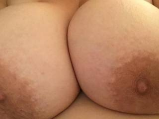 Gorgeous and such a delicious mouth watering tits...!!!