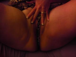 Sexxy. Love to help you pleasure her. Hope she taste add good as she looks.