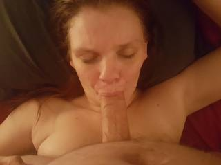 Wife sucking another mans cock will i was away.
