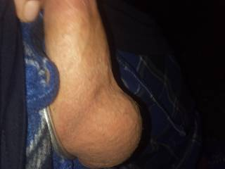 Pulling on my dick just for u