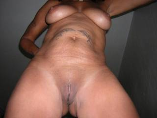love those brown pussy lips peeking out. I love latin pussy