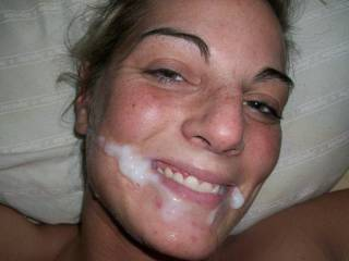 Good Girl, I'd love to cum on your beautiful face...