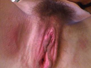 I love a big juicy pussy!  I lick and suck these big lips all the time!