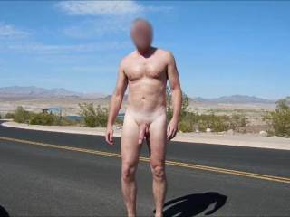 Enjoying another day of nude hiking.  It had been awhile since I ran into anyone, but today I saw one guy and to two ladies.  The guy had the best response and the ladies just waved. 