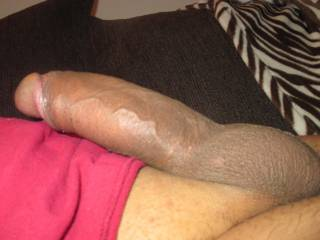 That's a cock sweetie, Luv it, Hmmmm, wonder if I could wiggle my tight ass down on that? Nice pic sweetie.