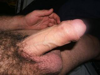 Your cock is just stunning!  LOVE all the hair and the fact you're uncut just sends me over the edge!