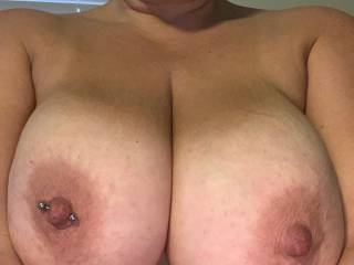 Just showing off my tits.  What do you think?