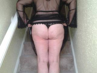 She\'s naughty, flashing her lovely bum like this :)