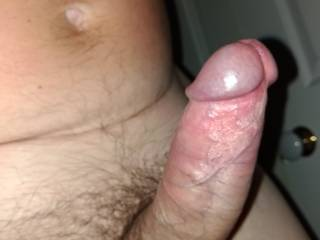 My hubby letting me know he wants another blow job.