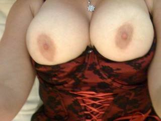I would love to suck on those luscious boobs and make your perfect nipples stand up so much.