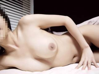 i absolutely love your body, your tits are perfect, i'd love to be sucking your nipples as you slowly play with my hard cock!