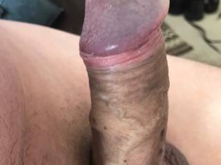 My cock Rock hard, does it deserve to go in the big dick category I don't know??