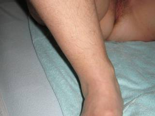 Of course taking pictures can be a bit of challenge, stroking my hard cock while watching