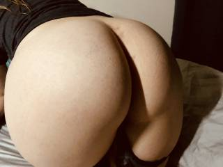 Wife's Big booty.... very curvy, round, big cheeks and perky ass.
