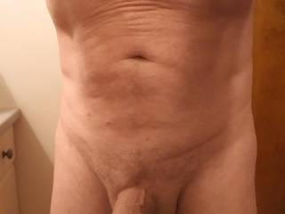 Just a quick pic before a shower. What U think?