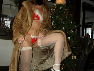 My newest fan shinylegslover11 has just made me a tribute video and I am returning the favor and sending this tribute to him. Christmas 2010, Tesa decorates the tree. CUM and lay your head in my lap and tell Mrs.Claus what you want for Christmas.