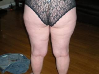 My Wife big round Butt in My favorite panties!