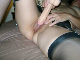 I must agree it would be so Arousing to watch Judy Play. I would be stroking right along with You. Would Judy like watching us Stroking & Cumming to her?