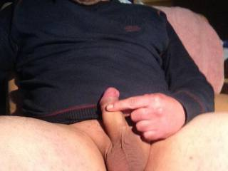 Like to take it in my mouth, balls resting on my chin, cock growing, head pushing into my throat, throbbing, swelling harder... balls tightening on my chin....cock twitching as hot cum hits deep in the back of my throat