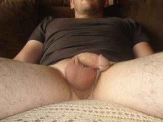 Lovely smooth cock with a beautiful cock head